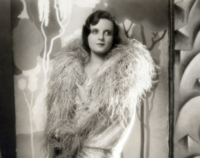 Nora Lane in a studio portrait